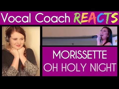 Vocal Coach Reacts to Morissette Amon Oh Holy Night