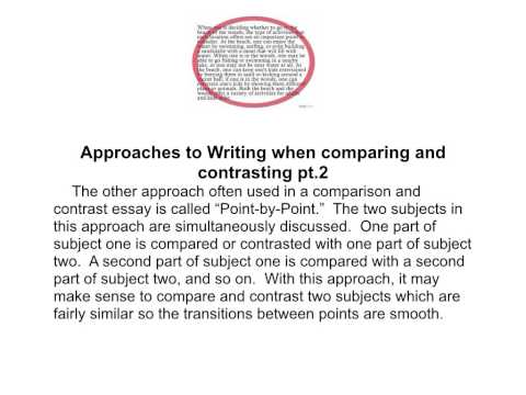 literature film comparison essay