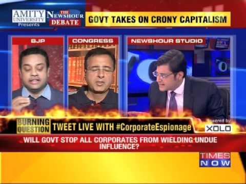 The Newshour Debate: Who's behind Corporate Espionage? - Full Debate (19th Feb 2015)