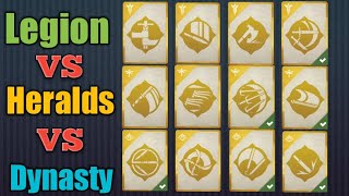 SHADOW FIGHT 3 | 3 Faction's all Legendary Moves & the best Faction!!
