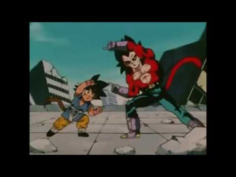 Dragon Ball GT LATINO - Goku y Vegeta Zanzoken
