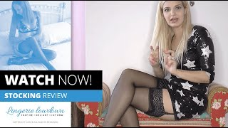 PREVIEW ONLY: Dolly reviews Primark 10 denier lace top luxury glossy stockings