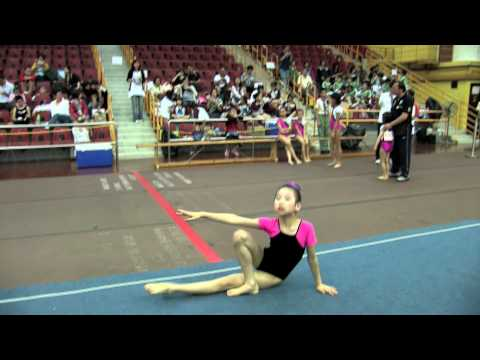 2011全港小學體操邀請賽 女子自由體操 08 ▶1:34