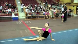 2011全港小學體操邀請賽 女子自由體操 08