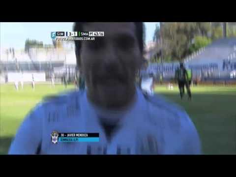 Gimnasia aplastó a San Martín y sueña con la Copa