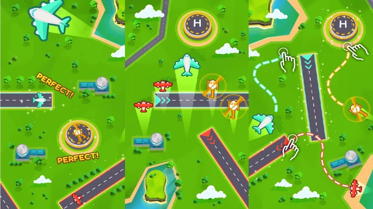 Image result for Super Air Traffic Control android game pic