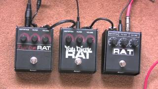 3 More Proco Rats - You Dirty Rat, Rat 2 and Turbo Rat