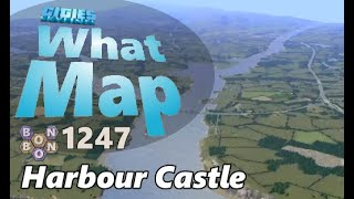CitiesSkylines - What Map - Map Review 1247 - Harbour Castle