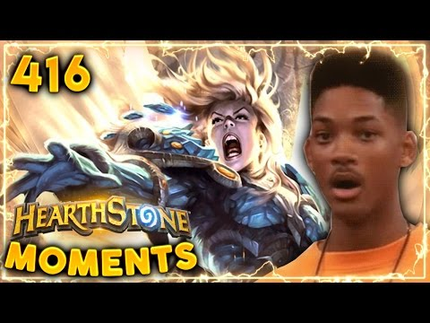 HUGE Avenging Wrath LUCK..!! | Hearthstone Un'Goro  Daily Moments Ep. 416