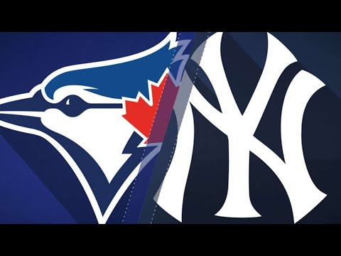 Blue Jays stun Yankees in 8th for series win: 9/16/18