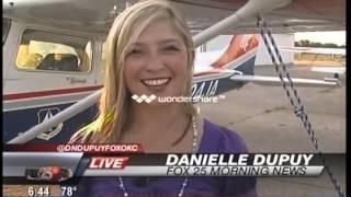 KOKH Fox25 Coverage of CAP Natl Flight Academy