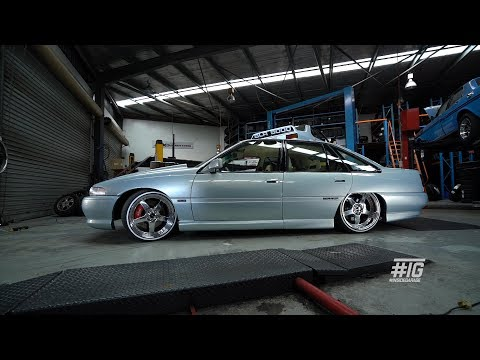 INSIDE GARAGE: '93 Holden VP Commodore