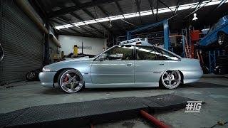 INSIDE GARAGE: '93 Holden VP Commodore