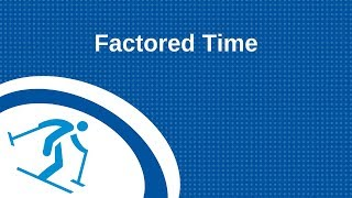 Factored Time | Classification