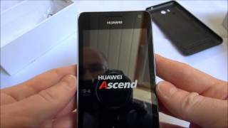 Huawei Ascend G615 - Unboxing & First run