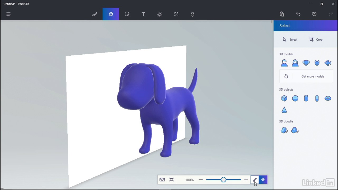 009 create 3d objects in paint 3d youtube for How to paint 3d