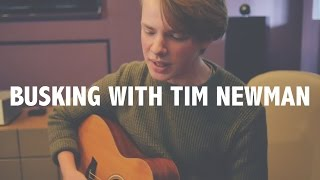 Busking with Tim Newman