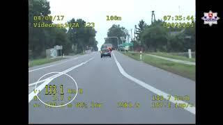 Przekroczyła prędkość o 83 km/h. Zabrali jej prawo jazdy