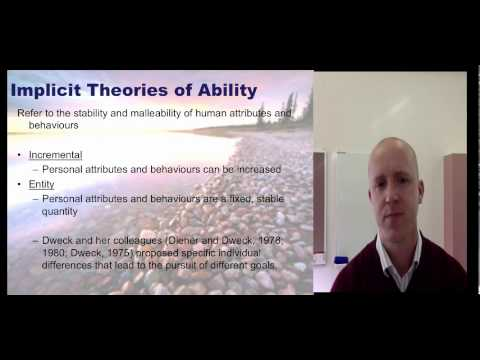 Sport and Perforance Psychology - Introduction to Achievement Goal Theory