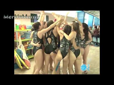 Women's Water Polo Celebration