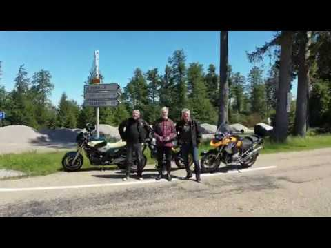Motorcycle tour in the Vosges mountains