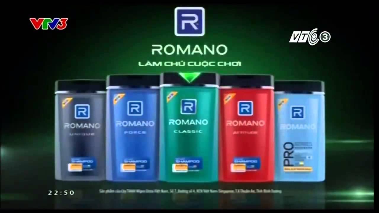 Phim quảng cáo dầu gội đầu Romano mới nhất 2014 - PQC072