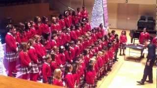 Coro Colegio Sto Tomás de Aquino en Palau Musica Valencia 2012
