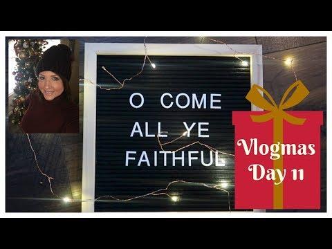 Vlogmas: Day 11 ( Christmas Shopping )
