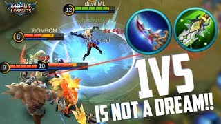 1V5 IS EASY - LANCELOT! INSANE ASSASSIN | MOBILE LEGENDS NEW HERO LANCELOT RANKED GAMEPLAY