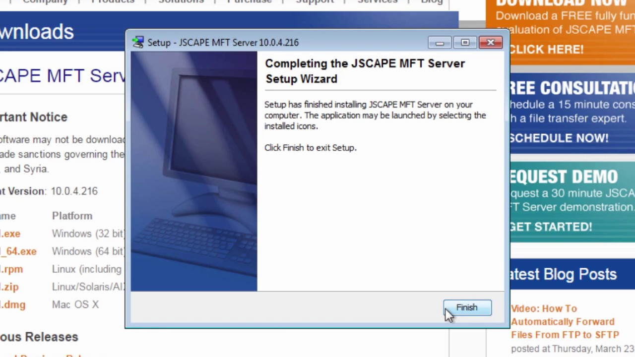 Installing an SFTP Server on Windows