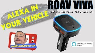 ALEXA | ROAV VIVA | Vehicle Integrated Voice Assistant | ALEXA Navigation and Assistant