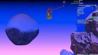 Getting Over It Speedrun in 2:10