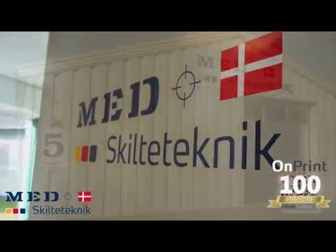 PrinfoHolbæk/OnPrint Opkøber M.E.D. Skilteteknik