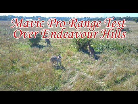 Mavic Pro Range Test Over Endeavour Hills