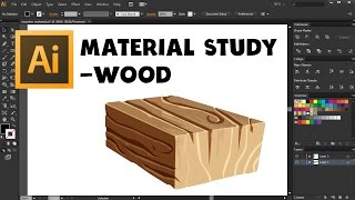 How To Make Wood Texture For Mobile Game Art With Adobe Illustrator Cs6 - Free Udemy Course Lecture