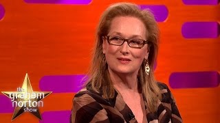 Meryl Streep Opens Up About Younger Self - The Graham Norton Show