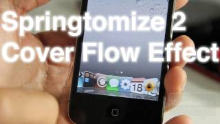 Springtomize 2 Features a Cover Flow Dock Feature Too