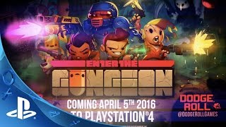 Enter the Gungeon - Gameplay Trailer | PS4
