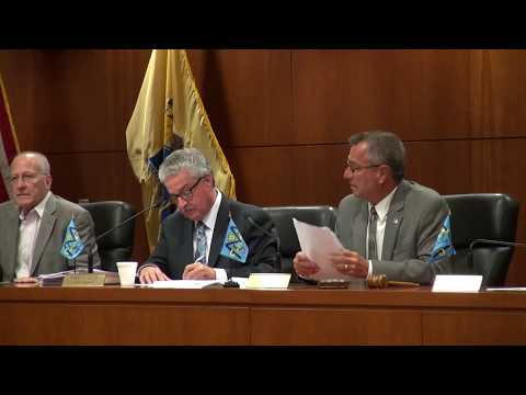"""Middlesex County Freeholders """"Invoices Only"""" Meeting - 7/6/17"""
