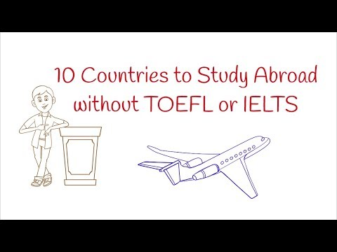 10 Countries You Can Study Abroad Without IELTS Or TOEFL + Universities