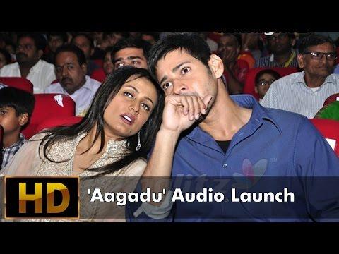 Aagadu Audio Launch Event - Maheshbabu ,Tamannaah