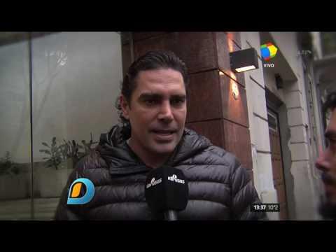 Matías Alé recibió el alta médica y ni bien salió de la clínica habló de su supuesta paternidad