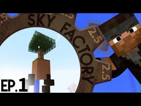 A Fresh Start | Sky Factory 2.5 | Ep.1