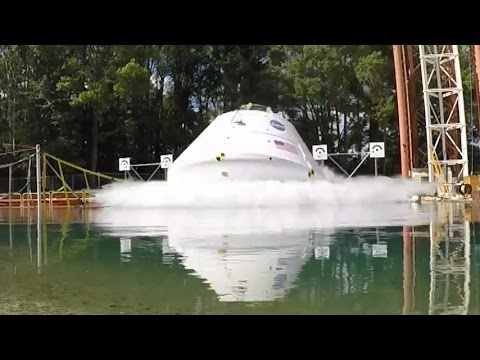 Orion Spacecraft Water Drop Test, 25 August 2016