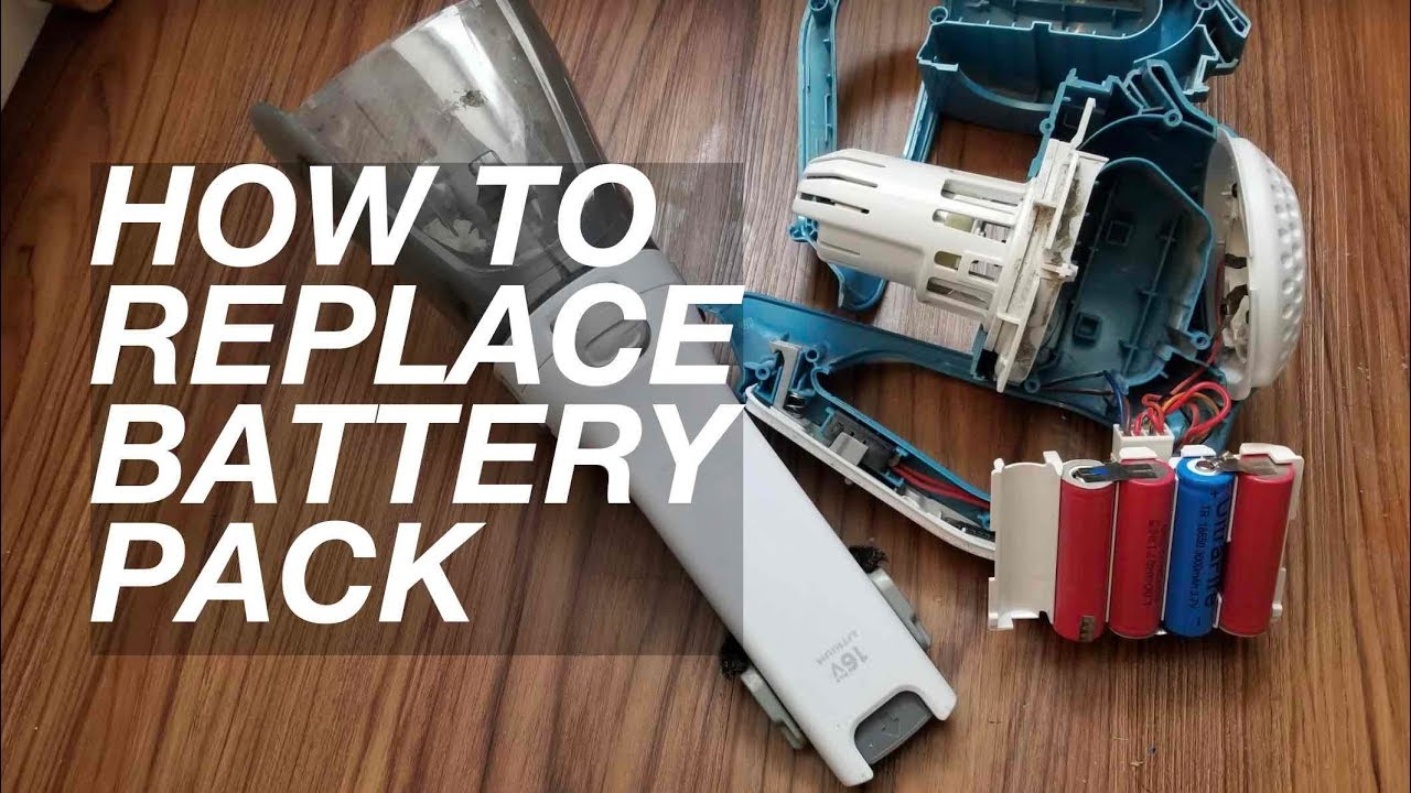 Easy Diy Replace 16v Black Amp Decker Hand Vacuum Battery