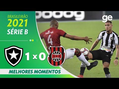 BOTAFOGO 1 X 0 BRASIL DE PELOTAS | MELHORES MOMENTOS | 18ª RODADA BRASILEIRÃO SÉRIE B | ge.globo