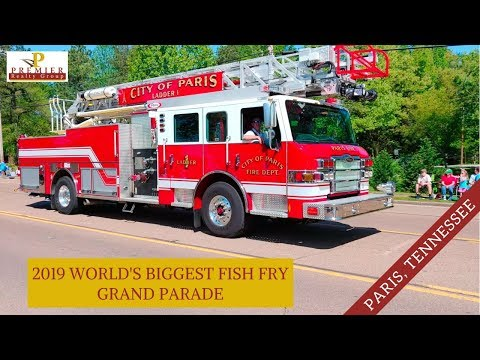2019 World's Biggest Fish Fry Grand Parade