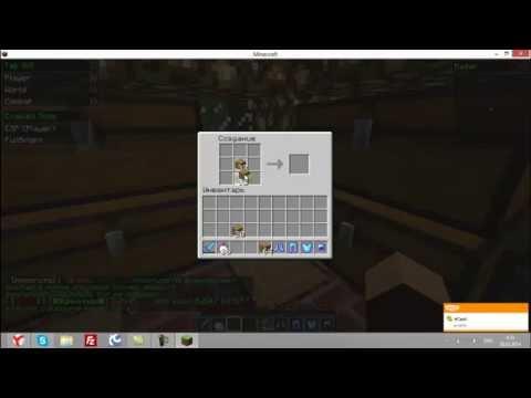 Играем на сервере MineDest (строем подвал)