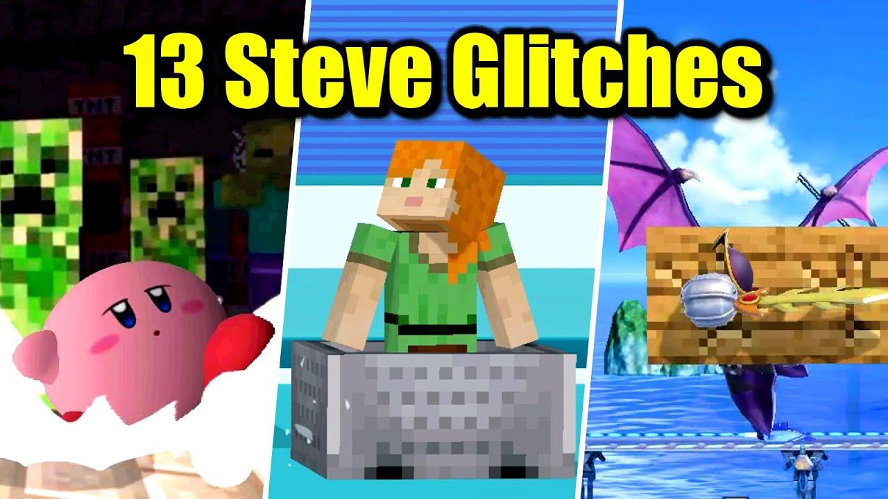 13 Minecraft Steve Glitches in Super Smash Bros. Ultimate