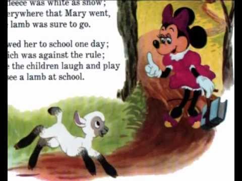 Mother Goose Rhymes - Disney Book & Rhymes